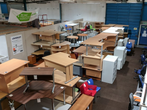 Final days for charities to take our furniture for free