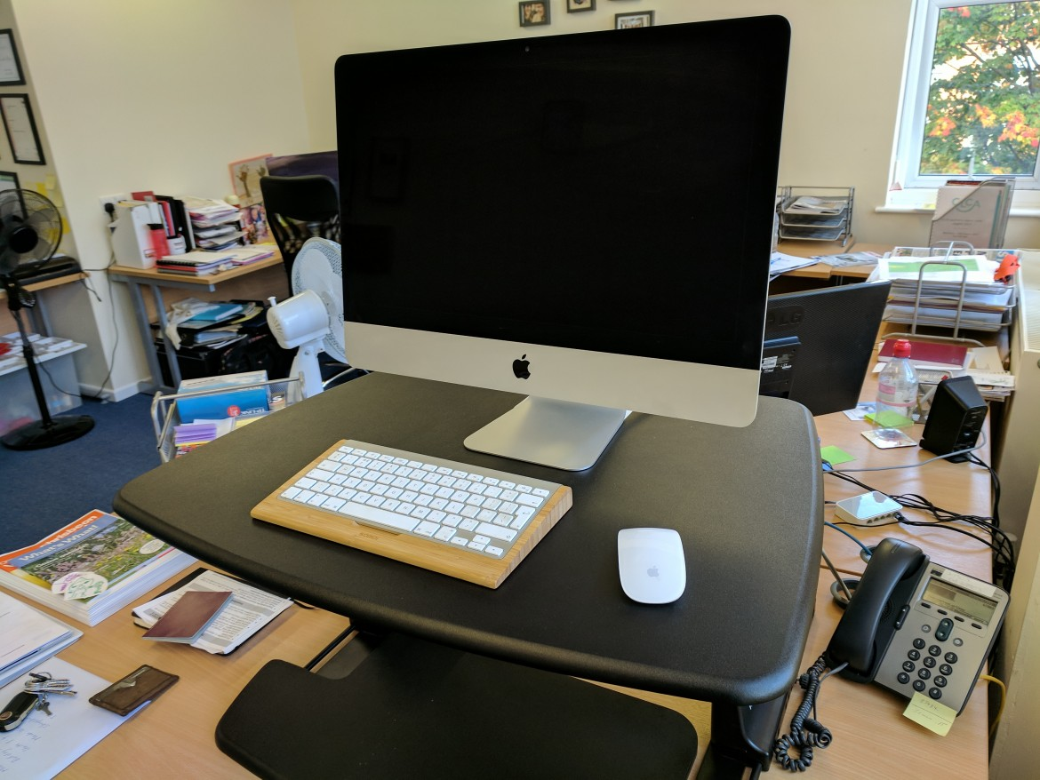 Stand Up Or Sit Down The Benefits Of A Standing Desk