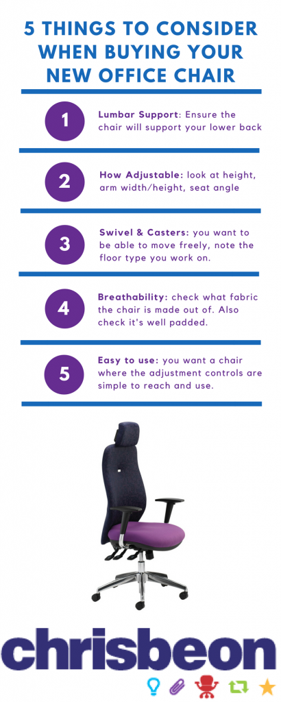 chair, top tips, office chair, chrisebon, office furniture