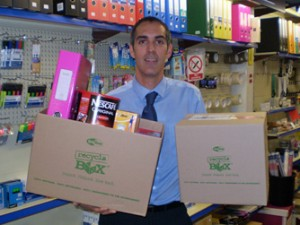 NEW MOVE TO CUT WASTE AND PACKAGING