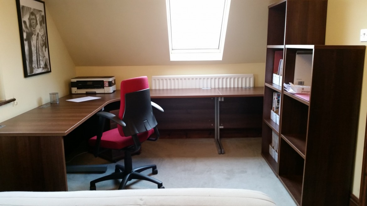 Chrisbeon, home office, refit, telford, shrewsbury
