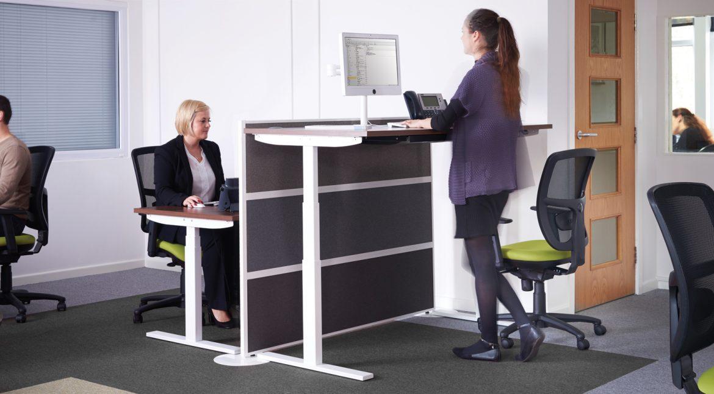 sit-stand desk, standing desk, health benefits