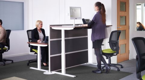 sit-stand desk, standing desk, health benefits