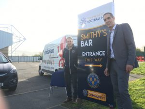 Shrewsbury's Community Football Hub all kitted out…