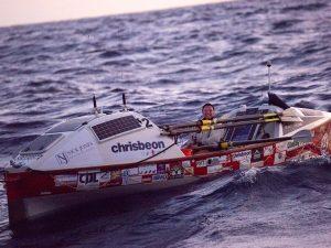 Kelda rows the Atlantic!