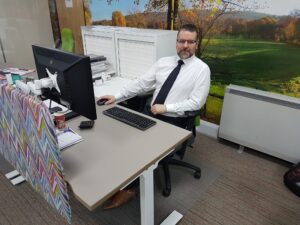 The bigger office picture…..meet Jim!