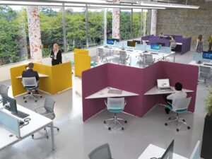 How can furniture shape the modern office?
